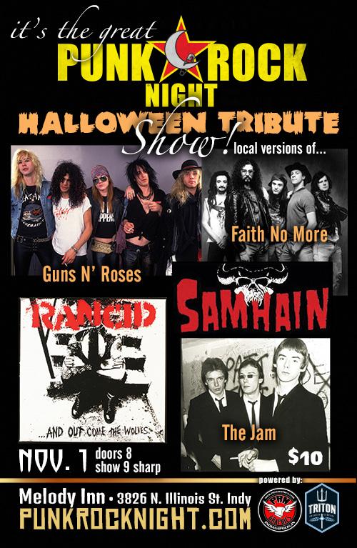 Halloween Tribute Night 11-1
