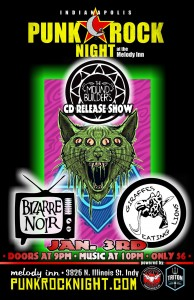 Mound Builders, Bizarre Noir, Giraffes Eating Lions, Burn The Army @ The Melody Inn | Indianapolis | Indiana | United States