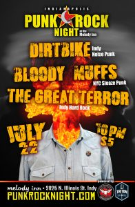 Bloody Muffs, Dirtbike, The Great Terror @ The Melody Inn | Indianapolis | Indiana | United States
