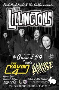 THE LILLINGTONS, Yavin 4, Amuse - at White Rabbit @ White Rabbit Cabaret | Indianapolis | Indiana | United States