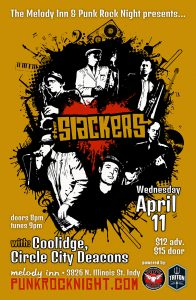 THE SLACKERS, with Coolidge, and Circle City Deacons @ The Melody Inn | Indianapolis | Indiana | United States